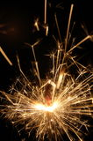 Sparkler on holiday Royalty Free Stock Photos