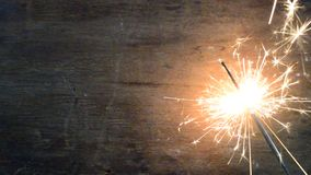 The sparkler stock footage