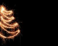 Sparkler tree Royalty Free Stock Photo