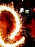 sparklers конструкции Стоковое Фото