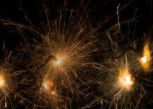 sparklers Стоковые Фотографии RF