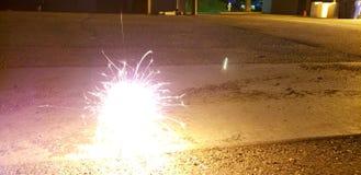 sparklers Photos libres de droits