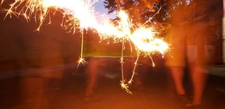 sparklers photos stock