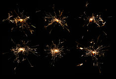 Sparklers Royalty Free Stock Images