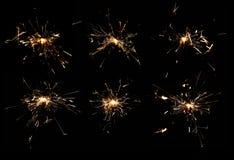 sparklers Стоковые Изображения RF