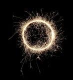 sparklers Arkivfoton