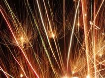 sparklers Royalty-vrije Stock Foto's