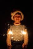 sparklers Royalty-vrije Stock Foto