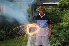 sparklers Στοκ Φωτογραφίες