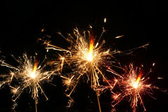 sparklers imagens de stock royalty free