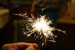 sparklers Στοκ φωτογραφίες με δικαίωμα ελεύθερης χρήσης