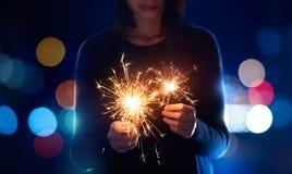 sparklers fotografia royalty free