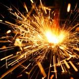 Sparklers da celebração foto de stock royalty free