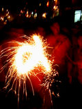 Sparklers de créateur Photos libres de droits