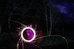 Sparklers Royalty Free Stock Image