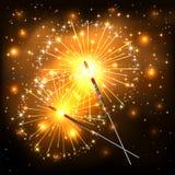 Sparklers Stock Image