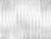 Sparkles белизны - серебряная предпосылка Стоковые Изображения RF