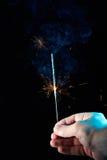 Sparkles горения золота Стоковые Изображения