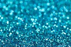 sparkles иллюстрации абстрактной предпосылки голубые Стоковая Фотография