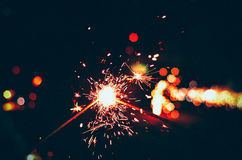 Sparkles, принося людей совместно Стоковые Фото