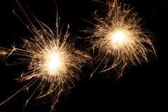 sparkles темноты торжества Стоковая Фотография RF