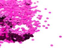 sparkles яркия блеска пыли Стоковая Фотография