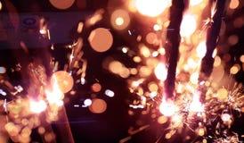 Sparkles. Blackground of sparkles Stock Image