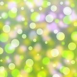 Sparkles, blurred lights  background. Stock Photos