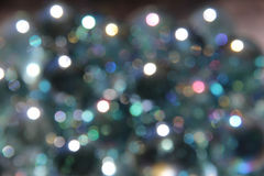 Sparkles com Gray Background azul Fotos de Stock Royalty Free