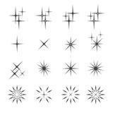 Sparkles o ícone Imagem de Stock