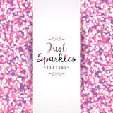 Sparkles seamless pattern Royalty Free Stock Photography