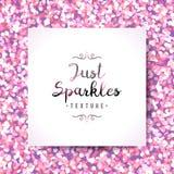 Sparkles seamless pattern Royalty Free Stock Photos