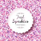 Sparkles seamless pattern Royalty Free Stock Photo