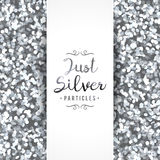 Sparkles seamless pattern Royalty Free Stock Image