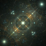 Sparkles in space Stock Image