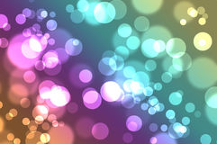 Sparkles Wallpaper. A bokeh sparkle effect wallpaper Royalty Free Stock Images