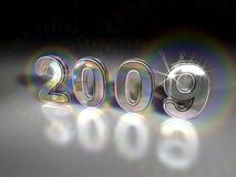 Sparkling 2009 Royalty Free Stock Image