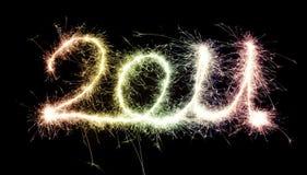 Sparkling 2011 Fotografia de Stock