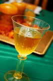 Sparkling Apple Cider Royalty Free Stock Photos