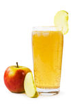 Sparkling apple juice Royalty Free Stock Photography