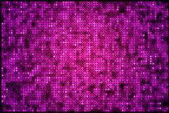 Sparkling backgorund. Abstract sparkling disco background, purple and black stock illustration