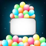 Sparkling Balloon Royalty Free Stock Photos