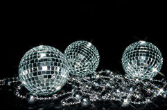 Sparkling balls Royalty Free Stock Photo