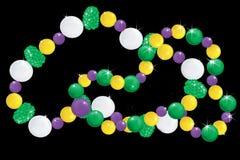 Sparkling Beads. Sparkling Mardi Gras beads Vector Illustration