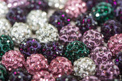 Sparkling Beads Stock Images