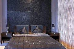 Sparkling bedroom detail Stock Images