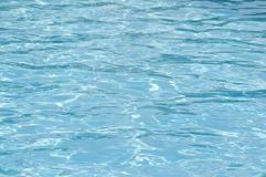 Sparkling blue pool surface Stock Photography