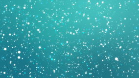 Sparkling blue teal glitter background. Glitter blue teal background with sparkling colorful light particles stock video footage