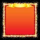 Sparkling Bright Frame Royalty Free Stock Photography