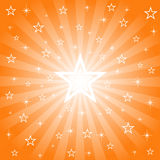 Sparkling Bright Star Background Royalty Free Stock Images